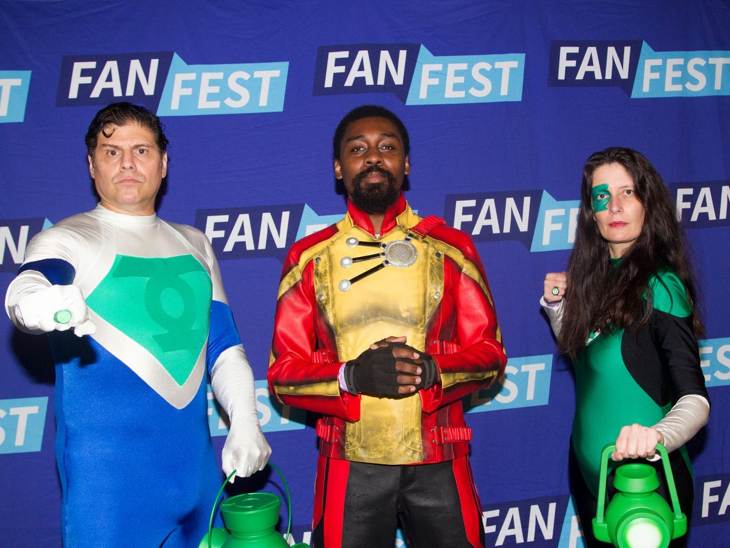 Justin, Jordan, Shiela. The 2018 Heroes and Villains Fan Fest took place at the New Jersey Convention & Expo Center. 09/09/2018
