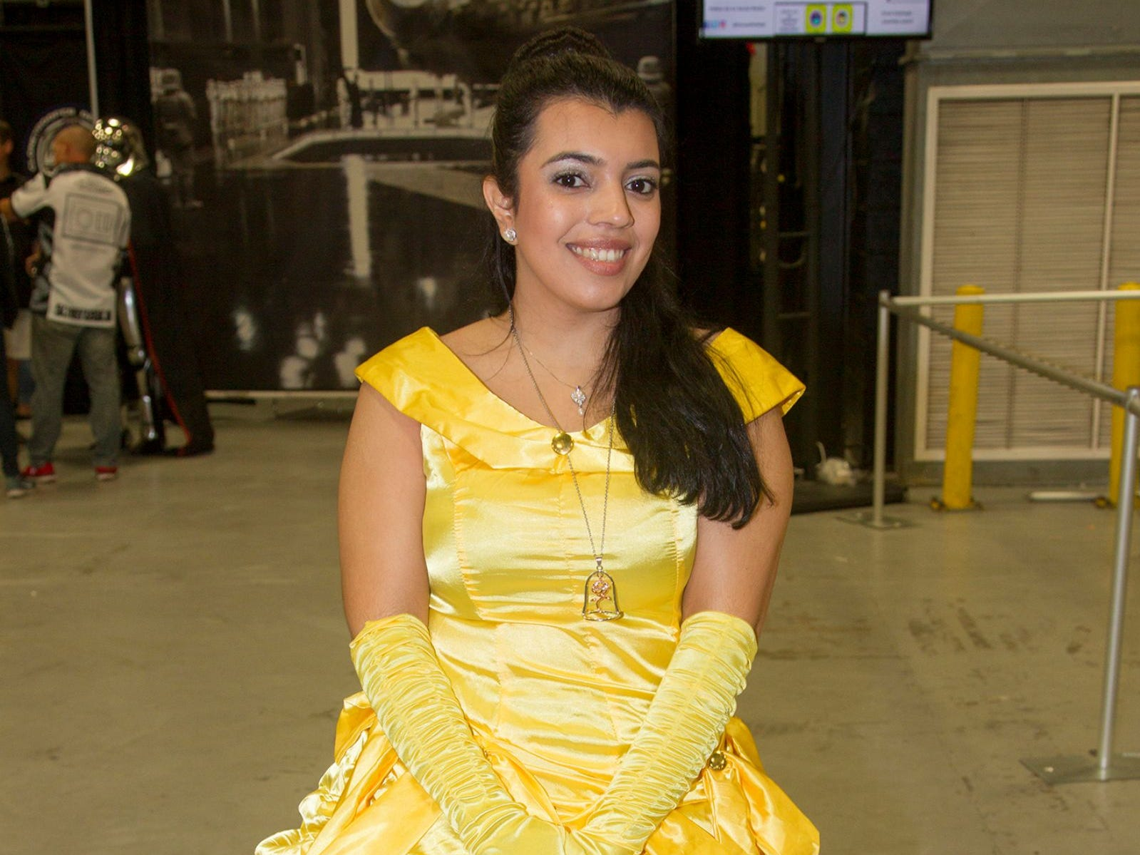 Maria as Belle. NJ Convention and Exp Center host the 2018 Hero's and Villians Expo.  09/09/2018