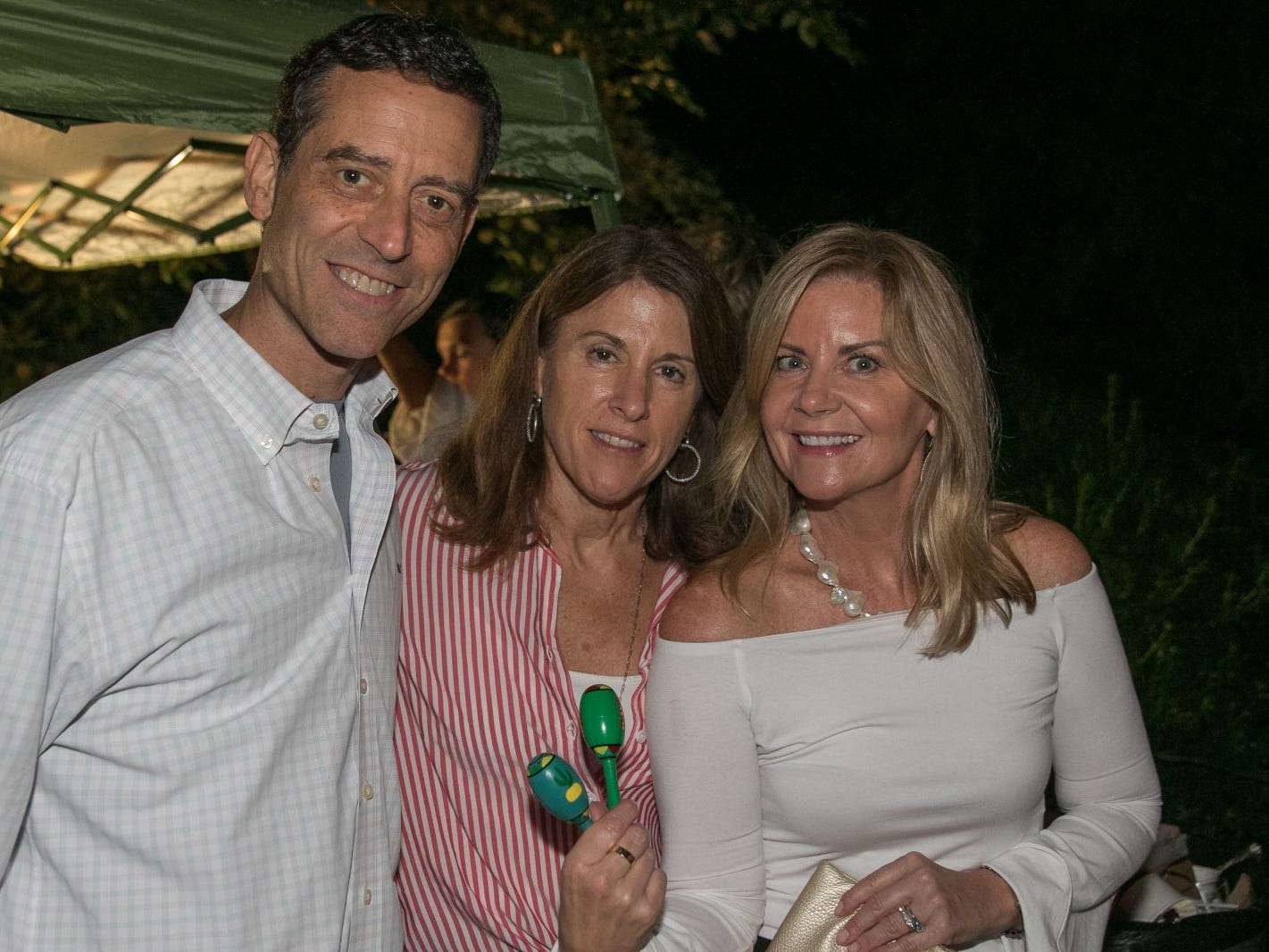 "Mark Maltz, Lynn Maltz, Janine Vellis. Pam Chmiel, The Tres Amigos Paella Company (David Colin, Joe Scanlon and Jeff Saladucha), The Jims (Jim Gibney and Jim Toscano), George Nikias, Ron Oscher and Neil Murphy held Ridgewood Cooks for a Cause to benefit ""Cookies For Kids Cancer"" (Childhood Cancer Research) and YCS (Youth Consultaion Services) charities. 09/08/2018"