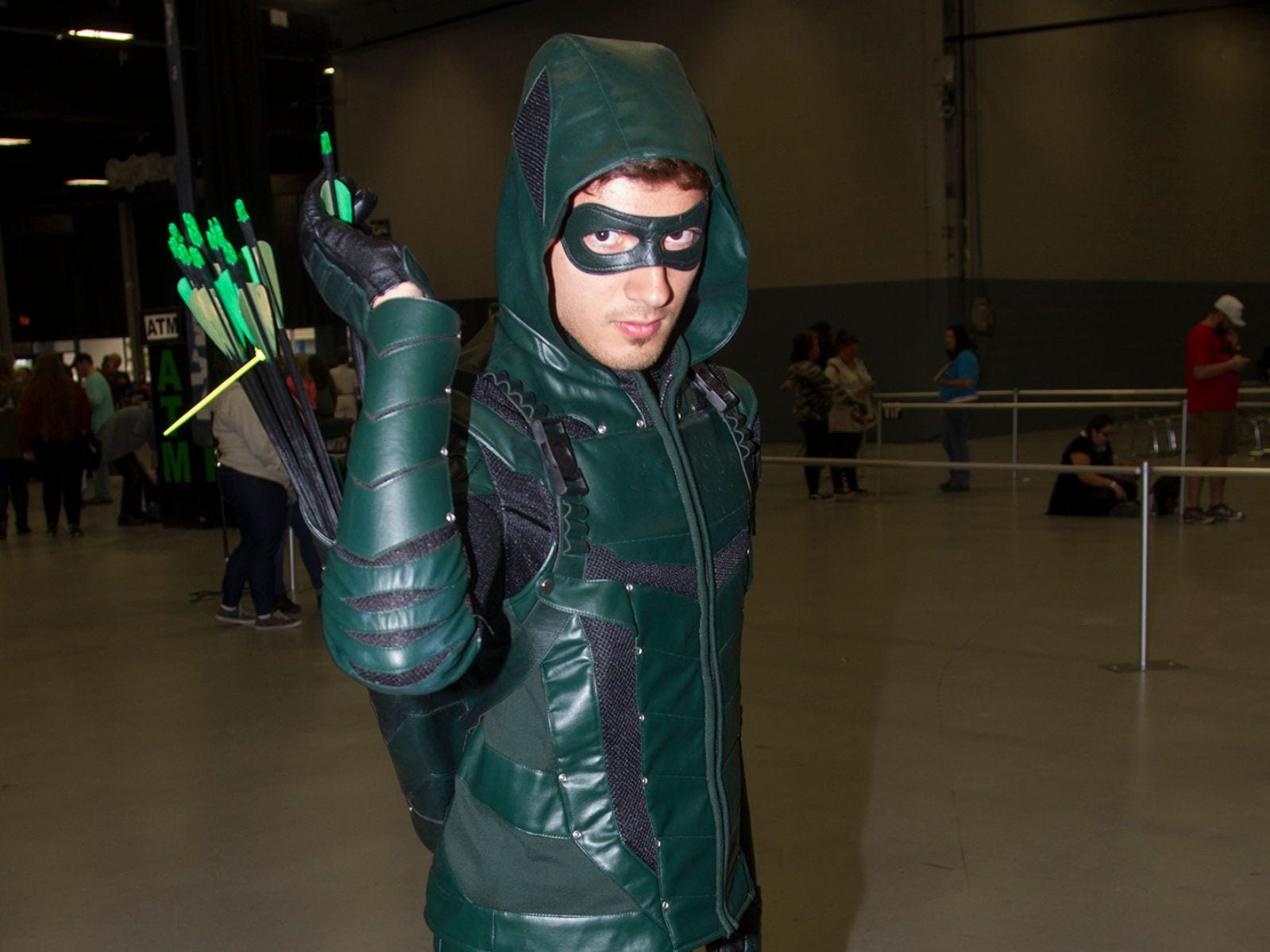 Jeff as Green Arrow. The 2018 Heroes and Villains Fan Fest took place at the New Jersey Convention & Expo Center. 09/09/2018