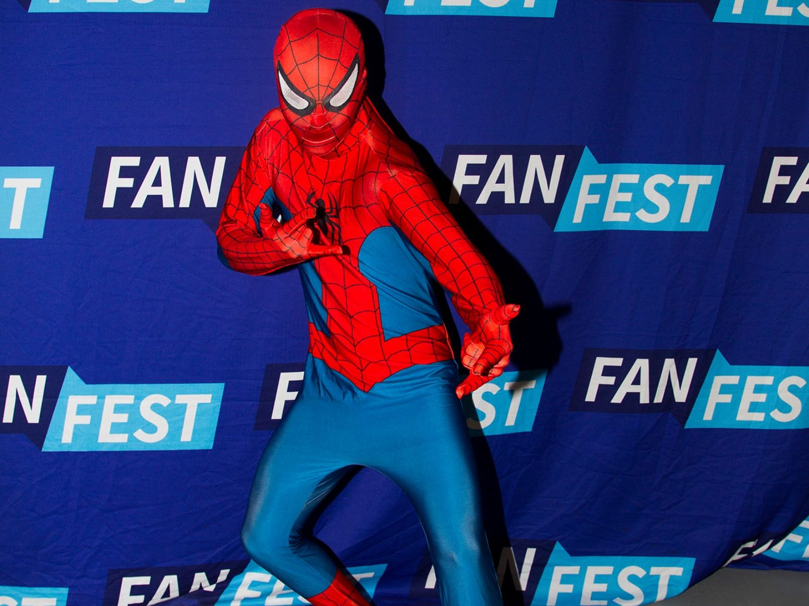 Spider-Man. The 2018 Heroes and Villains Fan Fest took place at the New Jersey Convention & Expo Center. 09/09/2018