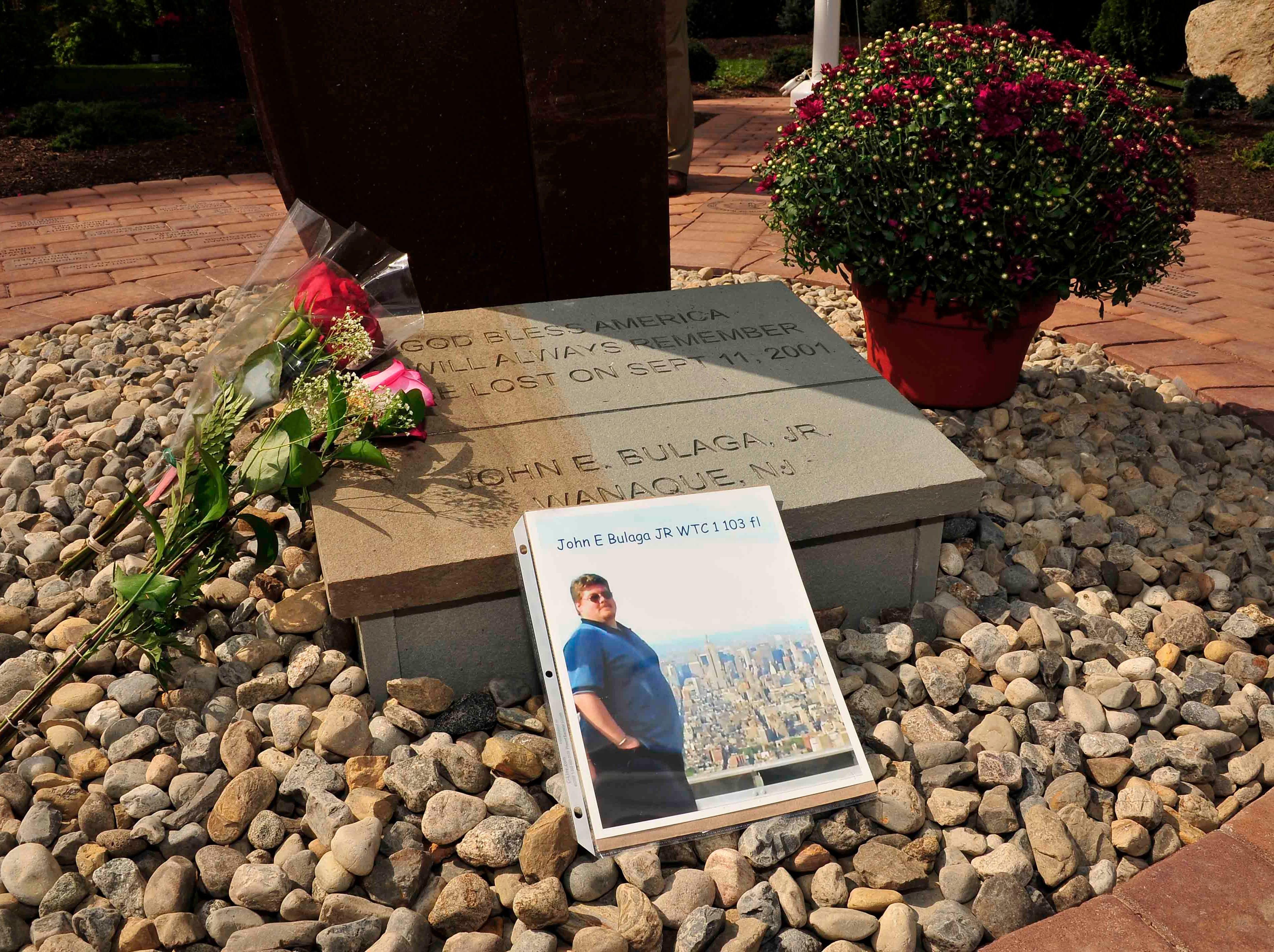 John E. Bulaga, Jr.'s memorial in Wanaque.
