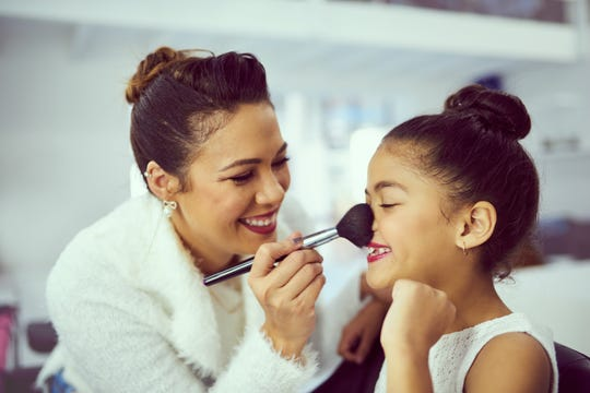 In terms of handling your own child's request for makeup, Kahane recommends setting limits without being extreme – and without judgment