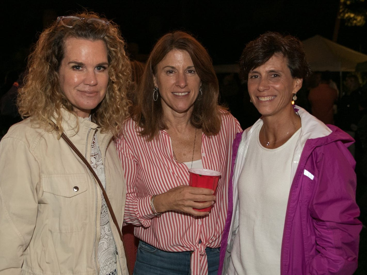 "Regina Wackerman, Lyn Maltz, Cathy Cardew. Pam Chmiel, The Tres Amigos Paella Company (David Colin, Joe Scanlon and Jeff Saladucha), The Jims (Jim Gibney and Jim Toscano), George Nikias, Ron Oscher and Neil Murphy held Ridgewood Cooks for a Cause to benefit ""Cookies For Kids Cancer"" (Childhood Cancer Research) and YCS (Youth Consultaion Services) charities. 09/08/2018"
