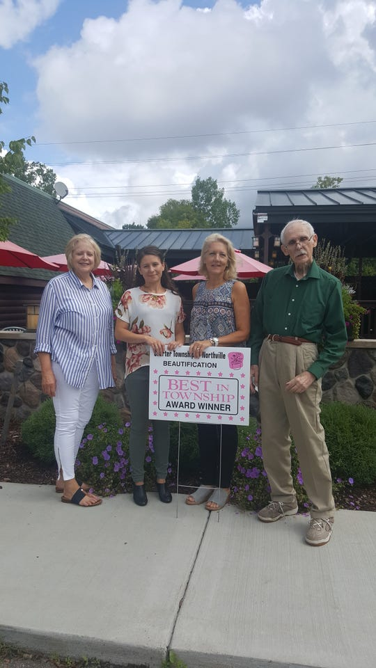 "Deadwood Bar & Grill won the annual ""Best in Township"" beautification award."