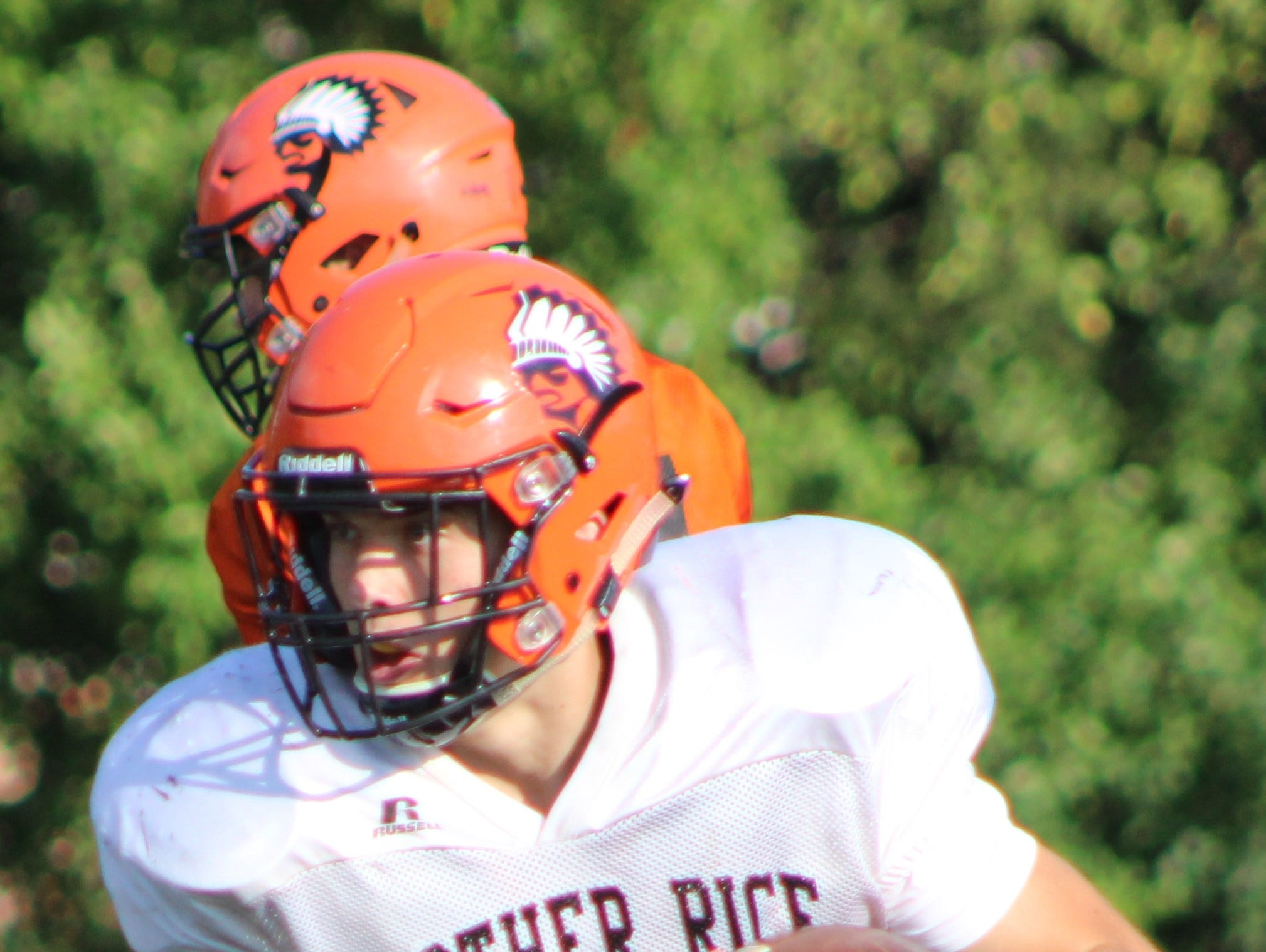 Senior James Donaldson and his Brother Rice teammates have moved to No. 1 in the weekly HTL Top-10 rankings.