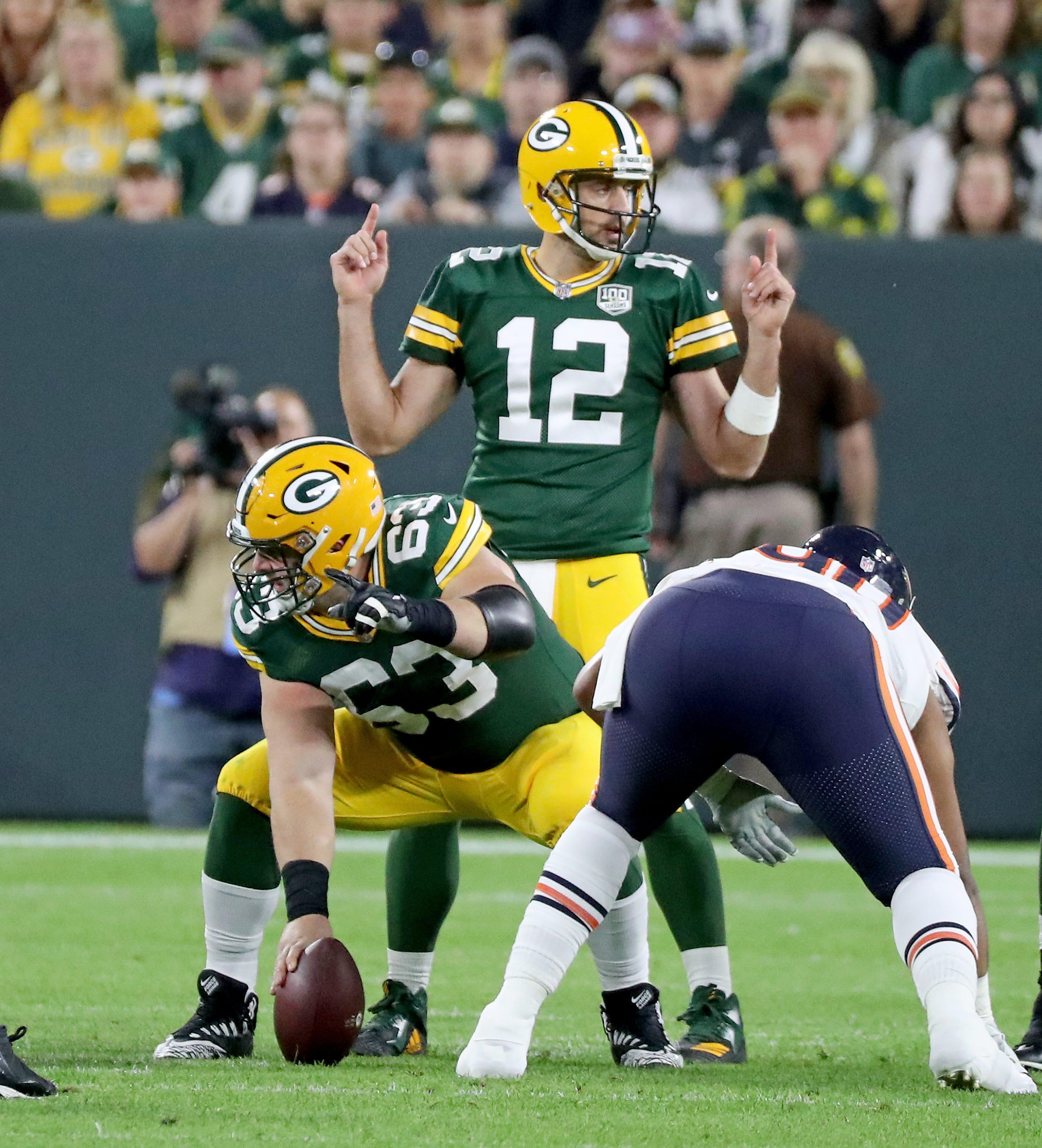 Packers QB Aaron Rodgers is active vs. Minnesota Vikings