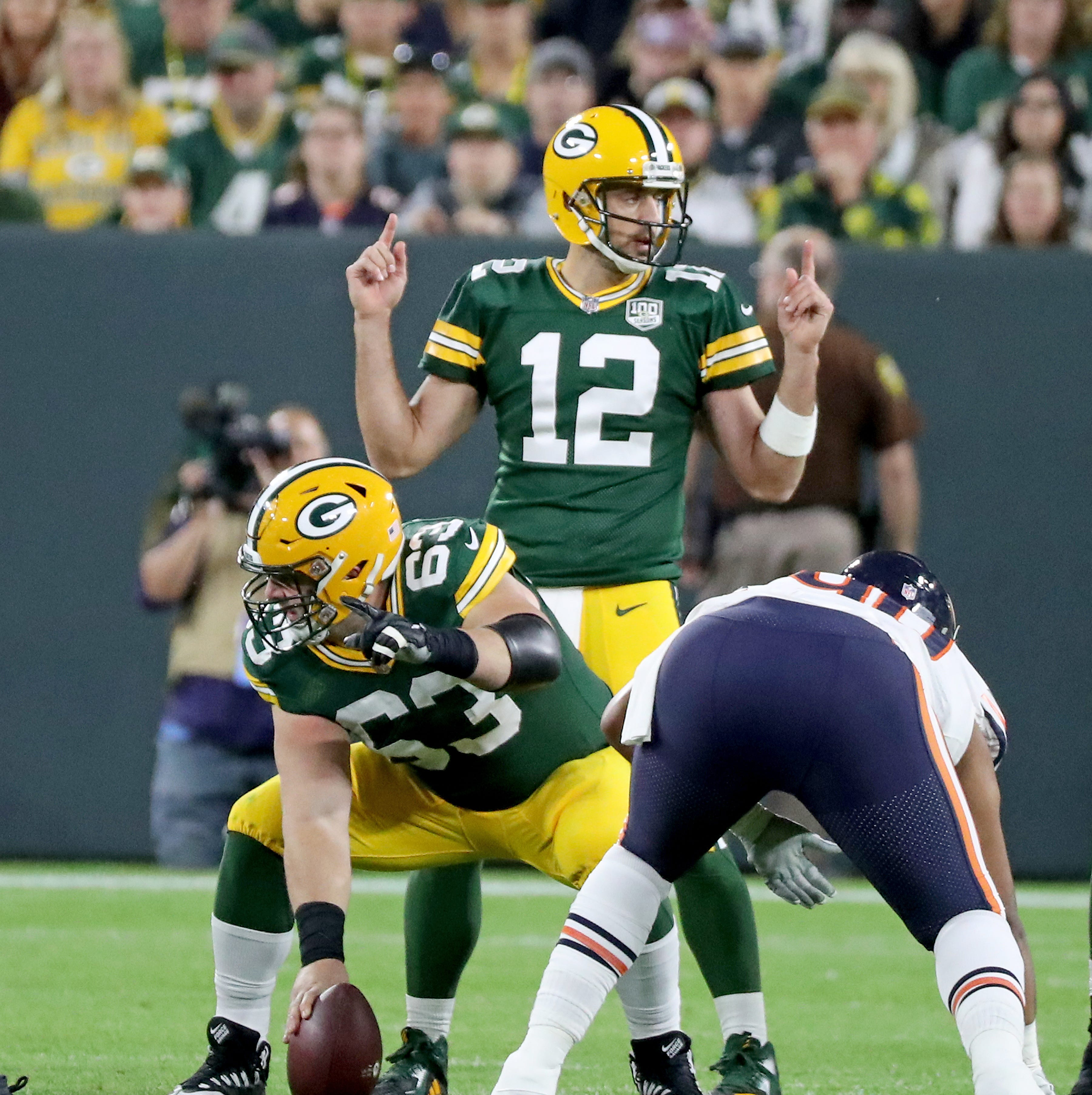 Packers QB Aaron Rodgers is active vs. Minnesota Vikings