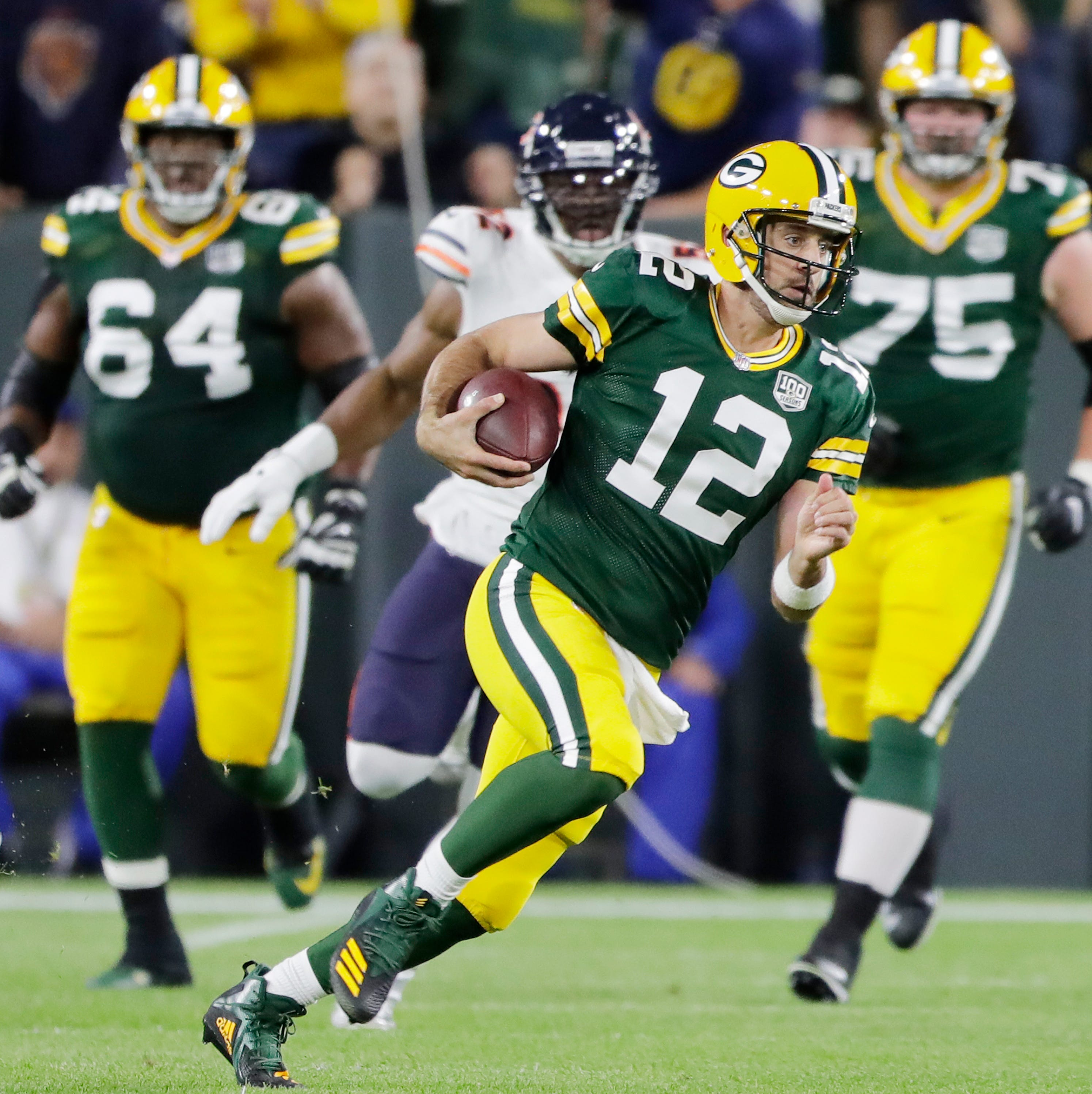 Packers, Bears go in different directions after 'special moment' in Aaron Rodgers' career