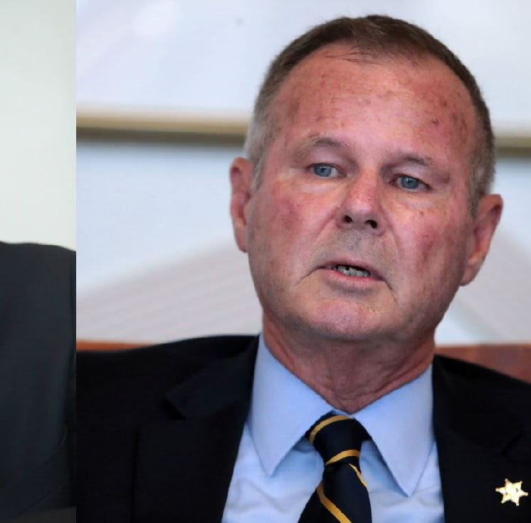 Riverside County Democrats face a hard choice in sheriff's race, with only Republicans on the ballot