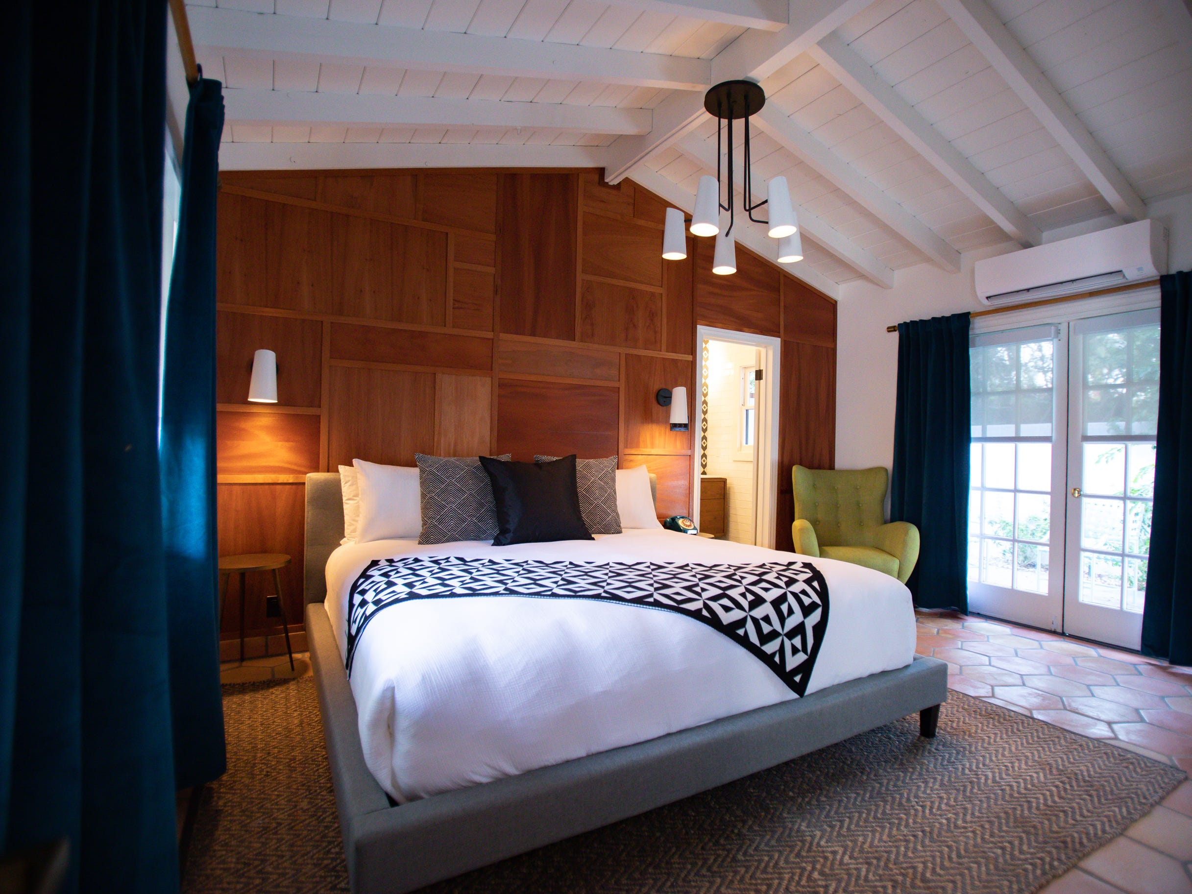 Each of the 38 rooms at Villa Royale Palm Springs will have its own look and feel.