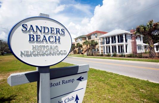 Sanders Beach Area