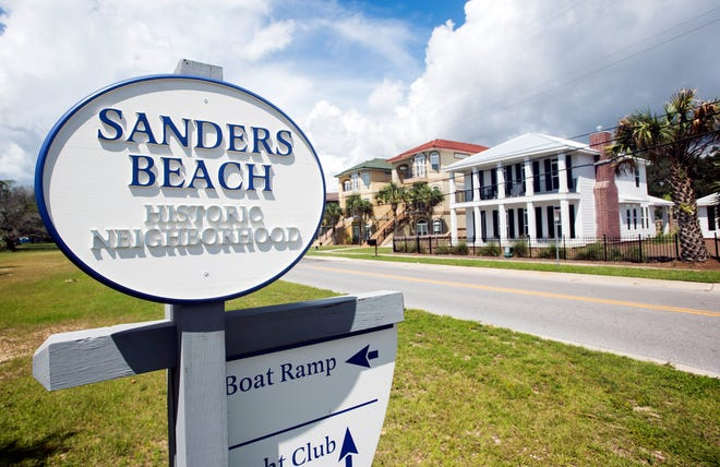 The Sanders Beach area is a sleepy little neighborhood located in the southwest part of Pensacola with a unique nautical vibe.