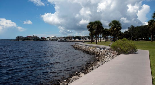 The Sanders Beach Corinne Jones Community Center is central gathering site for the sleepy little neighborhood located in the southwest Pensacola.