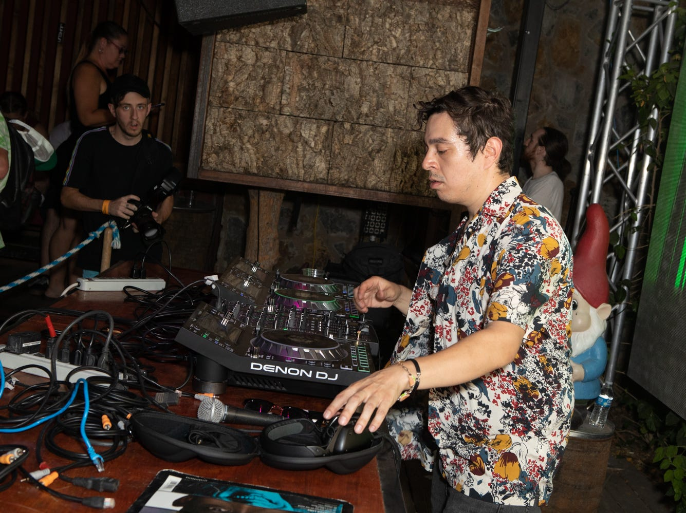 Laidback Luke brought good vibes, beats, and techno to Shady Park on Sunday, Sept. 9, 2018 in Tempe.