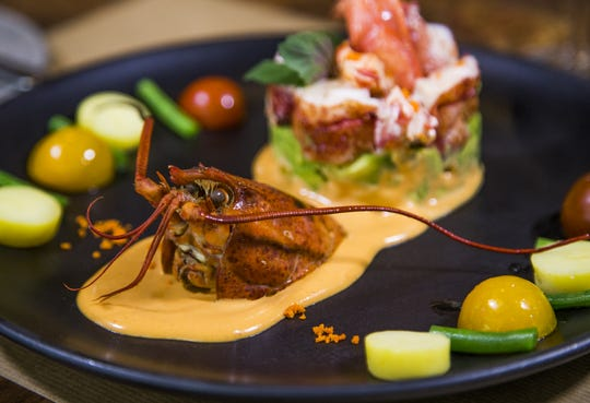 This is the lobster salad with brandy cocktail sauce from J & G Steakhouse at The Phoenician Scottsdale resort, Monday, September 10, 2018.
