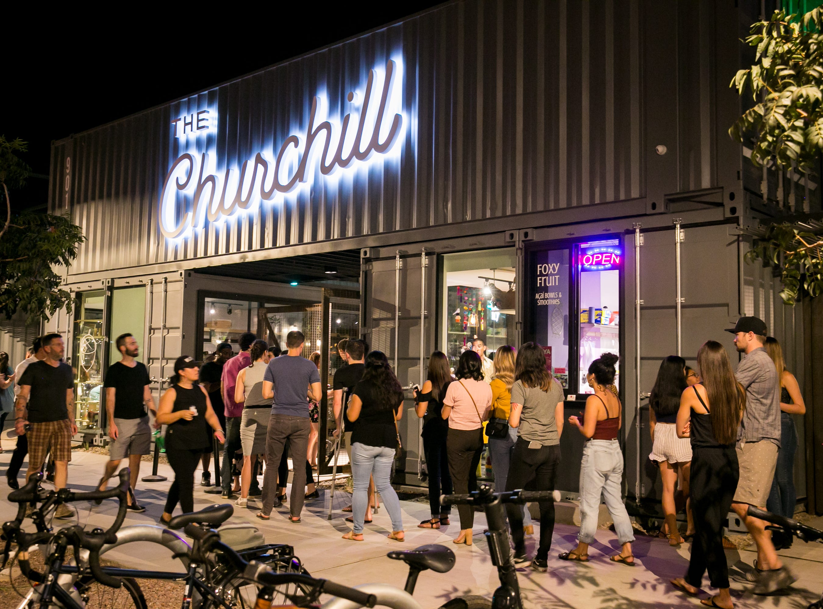 The Churchill is a great addition to Roosevelt Row.