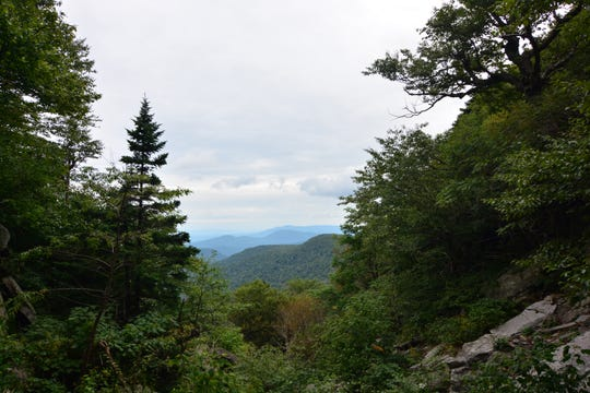 The view from Jimmy Dolan Notch.