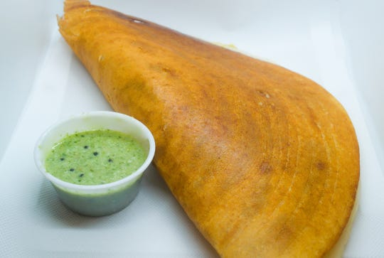 Krishna Indian Grocery in Poughkeepsie makes freshly made dosas on Friday and Monday.