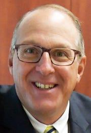 Eastern York School District's new superintendent, Joe Mancuso, is shown in his office Monday, Sept. 10, 2018. Bill Kalina photo