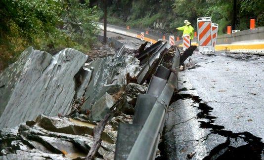 Accomac Road Damage