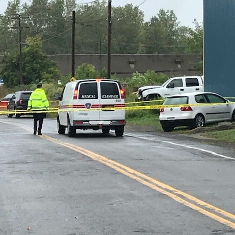 Officials ID victims found in burned car in Hamlin, say both were shot