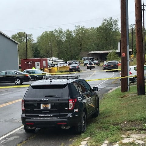 Two bodies discovered in burned-out car in Hamlin