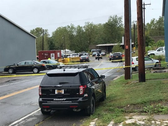 The Monroe County Sheriff's Office is investigating a vehicle fire near King Street in Hamlin. Two bodies were found in the vehicle Monday.