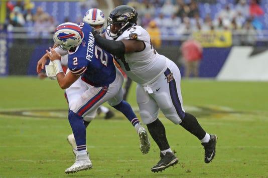 Nfl Buffalo Bills At Baltimore Ravens
