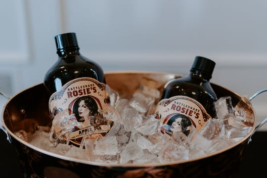Fairport's Iron Smoke Distillery will be sampling its Rattlesnake Rosie's Apple Pie at the Rochester Whiskey Riot Festival on Sept. 15  at the Rochester Riverside Convention Center.