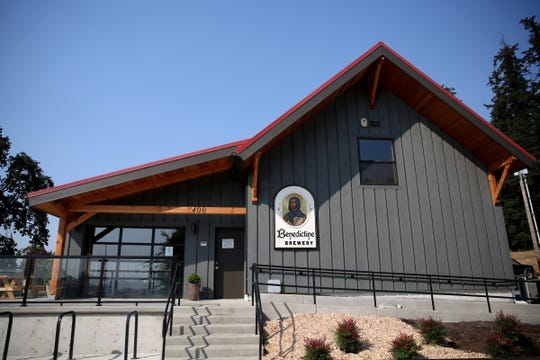 The Benedictine Brewery in Mt. Angel on Wednesday, Sep. 5, 2018. The brewery, operated by the monks of Mount Angel Abbey, opens September 22.