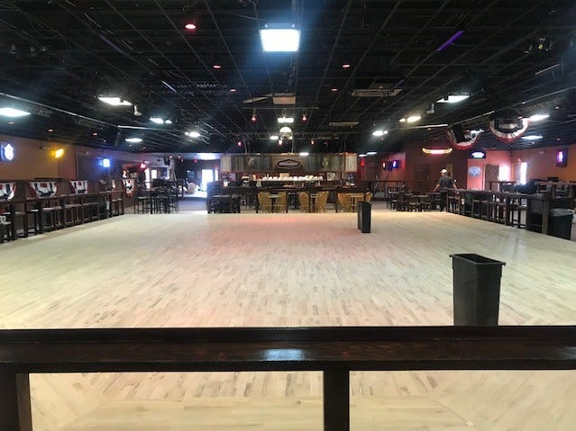 The Thomas Brothers redid the dance floor at their location at 2581 Sunset Drive.