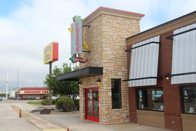 Fuzzy's Taco Shop, 4333 Sherwood Way, opens its doors to San Angelo at 7 a.m. Monday, Sept. 10.