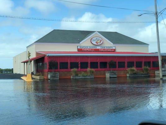 Crisfield Sept Flooding 1