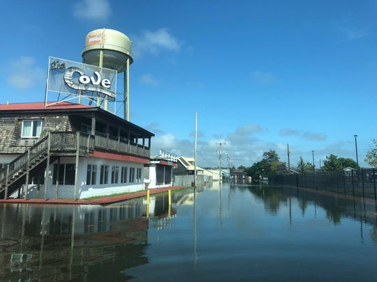 Crisfield experienced some minor street flooding Monday ahead of Hurricane Florence, which is expected to impact the Delmarva area Thursday.