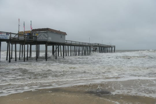 The inlet at Ocean City, Md., is due for dredging.