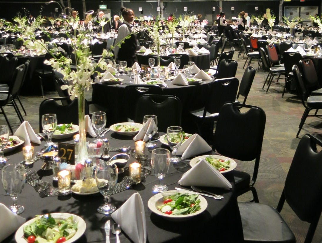 "Shreveport Symphony Gala ""Give my Regards to Broadway"" was Sept. 6 at Harrah's Riverdome."