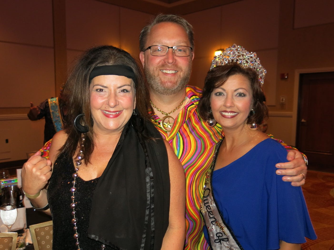 Krewe Sobek Royalty Coronation was Saturday at Sam's Town.