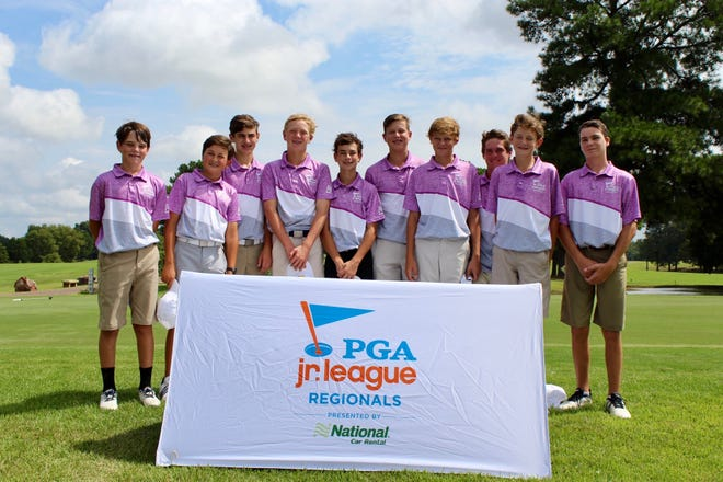 A group of 10 local golf stars represented Shreveport and took home a PGA Junior League regional championship. The national tourney will take place in Scottsdale, Arizona, in November.