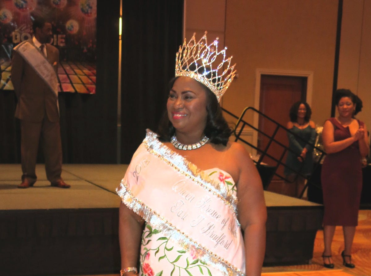 Krewe Sobek Royalty Coronation was Sept. 8 at Sam's Town.