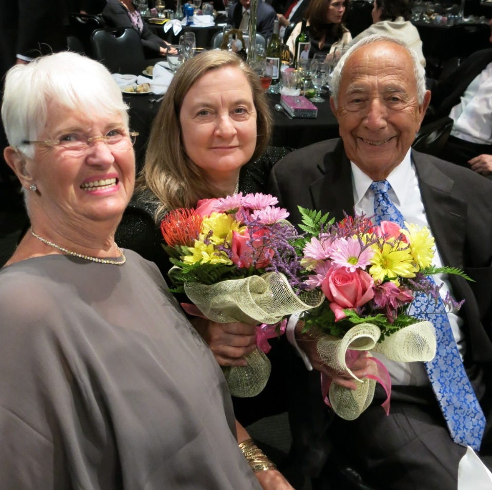 Holocaust survivor Sidney Kent celebrates 90th birthday at Symphony Gala