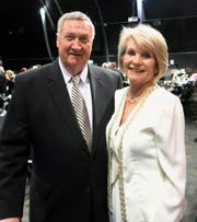 Willis Knighton Health System Chief Jim Elrod and his wife, System Veep Margaret Elrod, at Symphony Gala. W-K was top Diamond Sponsor for the soldout fund raiser.