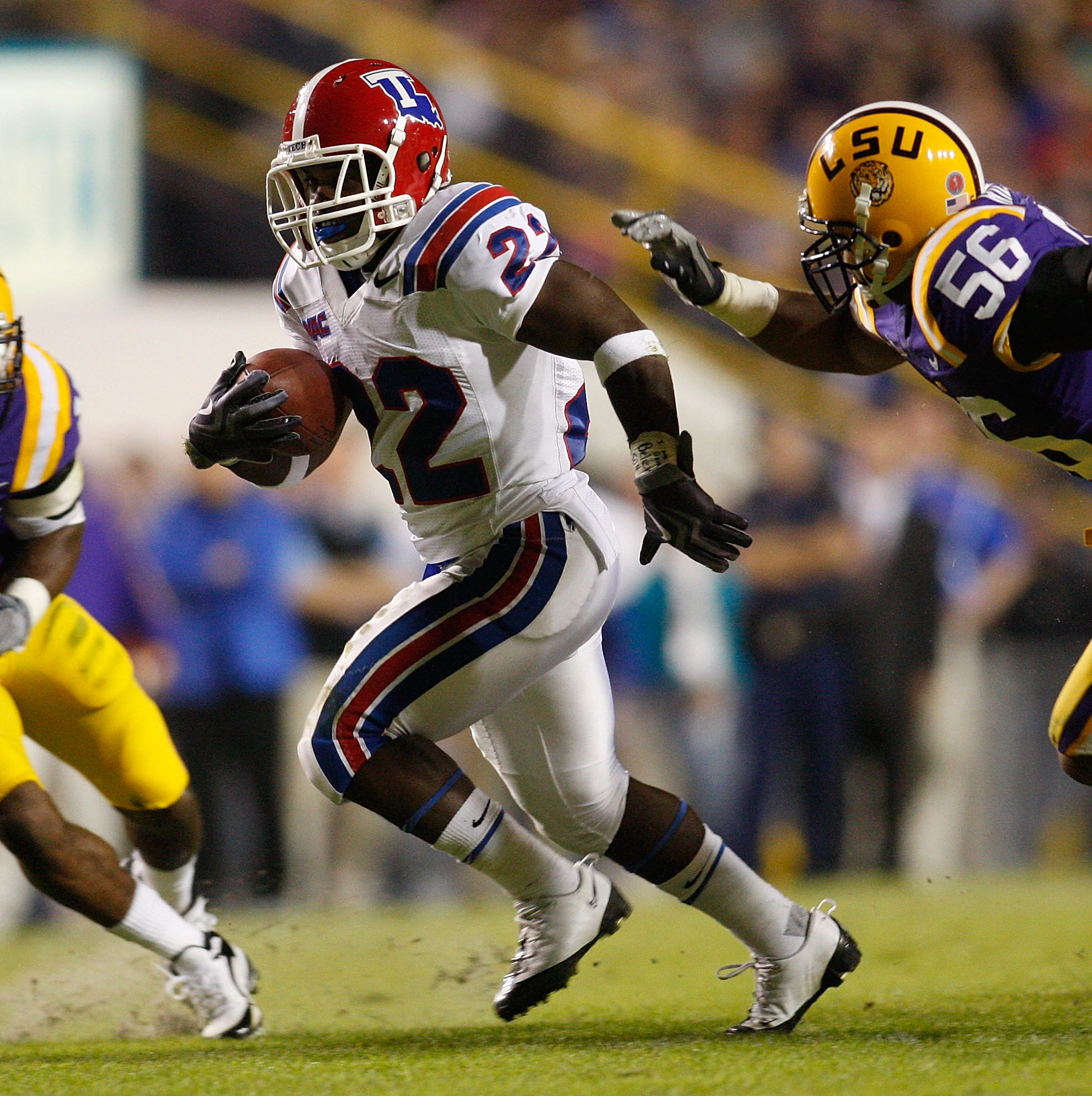 LSU-La. Tech game gets evening kickoff