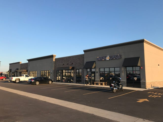 Liberty Square strip center at the corner of 85th and Minnesota is rapidly filling up with new businesses, including the newly announced Orangetheory fitness franchise.