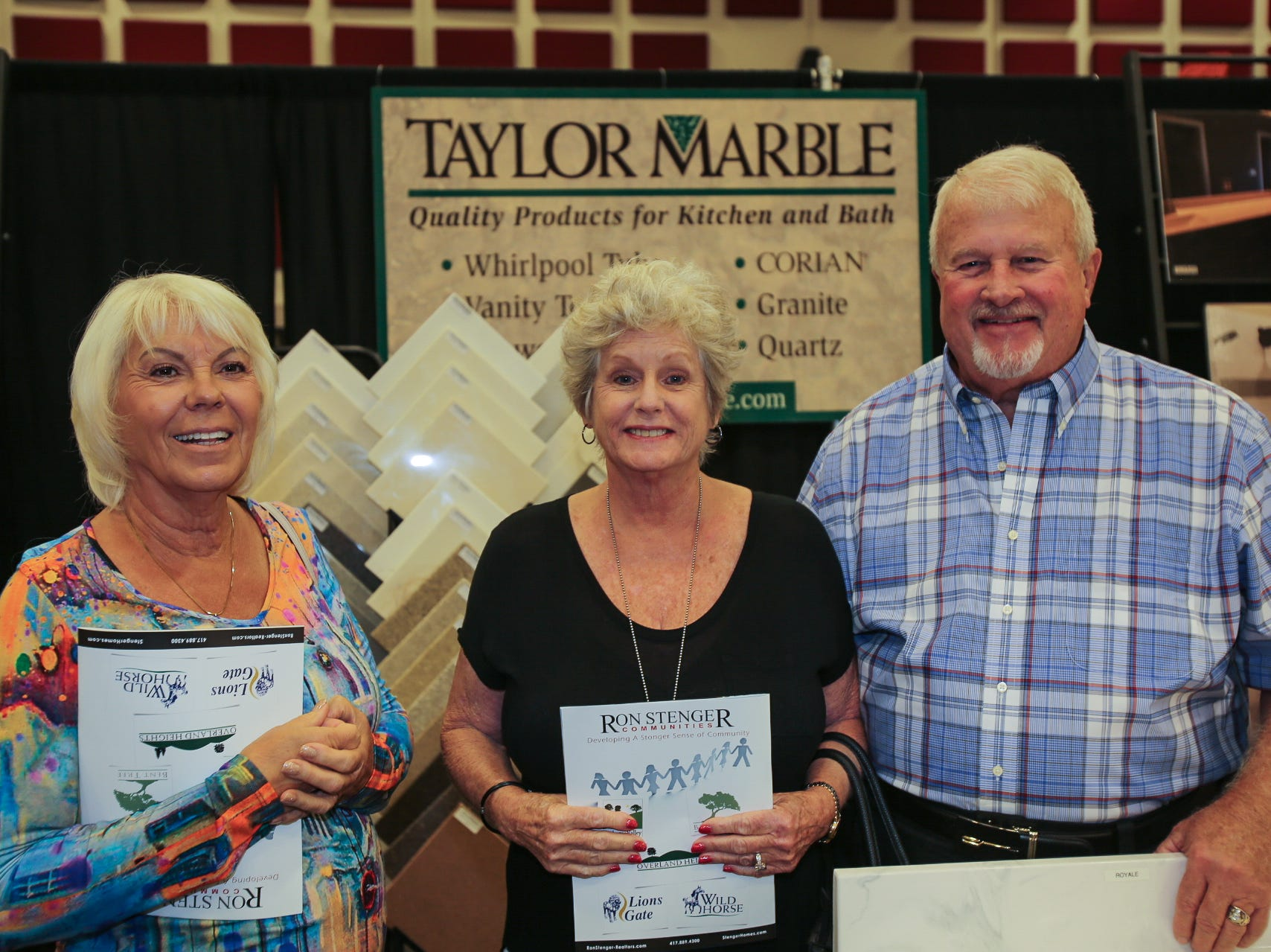 Lory Tripses and Bonnie and Preston Strong