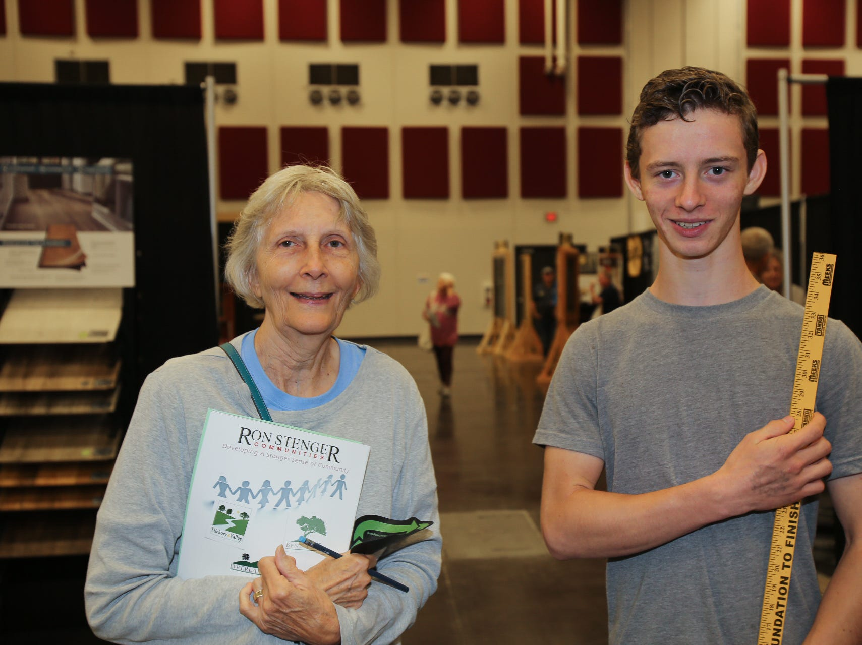 Sue Plaster and Torin Semsch
