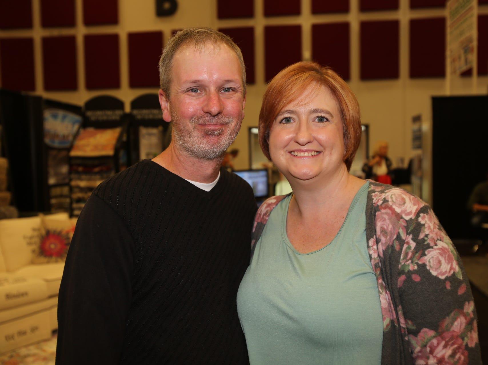 Mike Fain and Sarah Sleeth