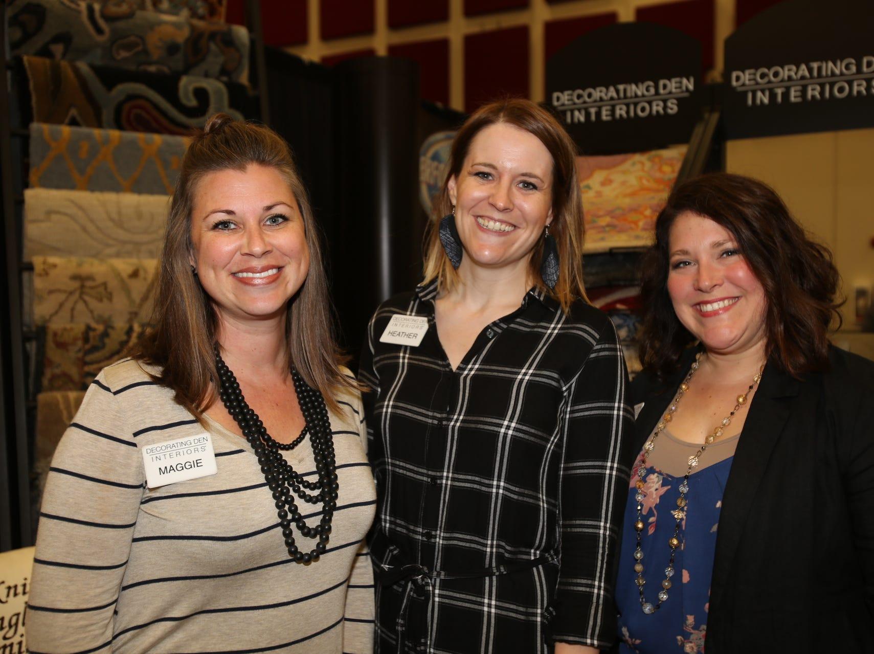 Maggie Kicklighter, Heather Smith, and Jillian Johnson
