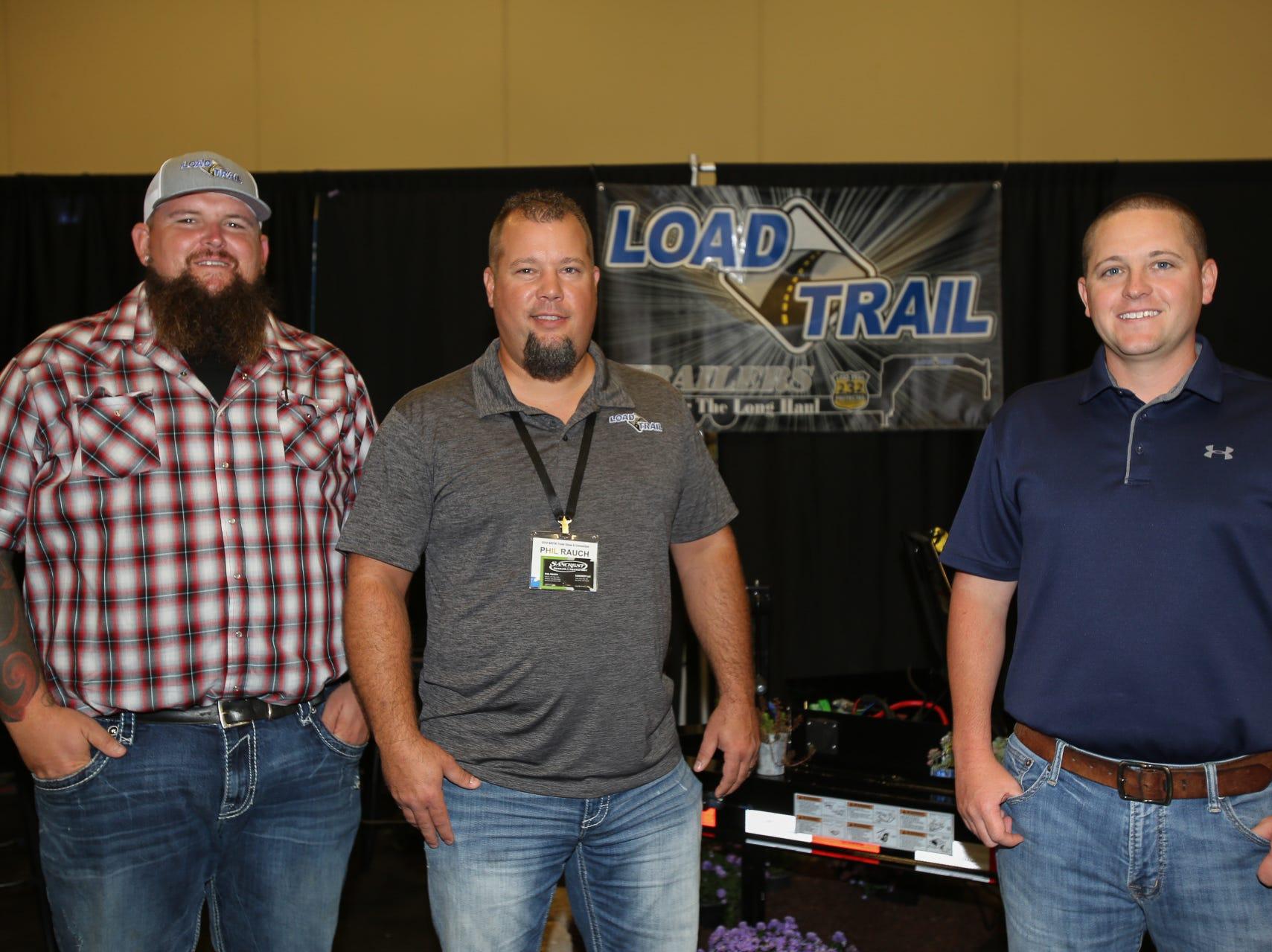 Pat Miller, Phil Rauch, and Jeffrey Lee