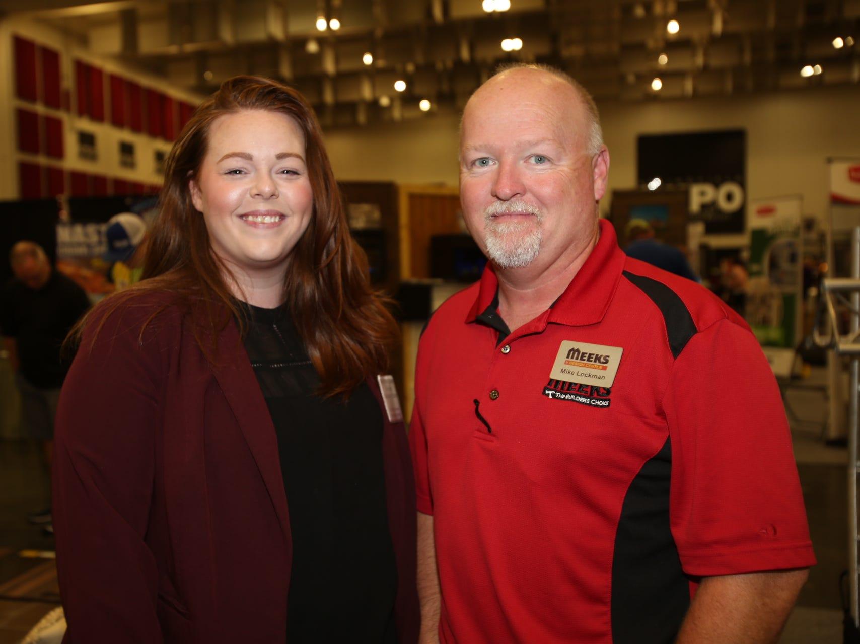 Stephanie Tibbetts and Mike Lockman